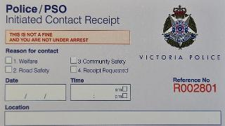 A copy of the receipts to be issued in Dandenong and Moonee Valley from April 2015
