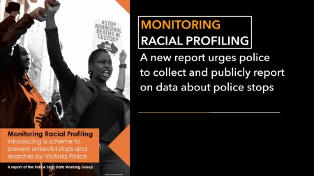 Monitoring Racial Profiling still