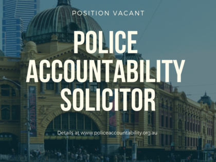 Three new police accountability positions available!