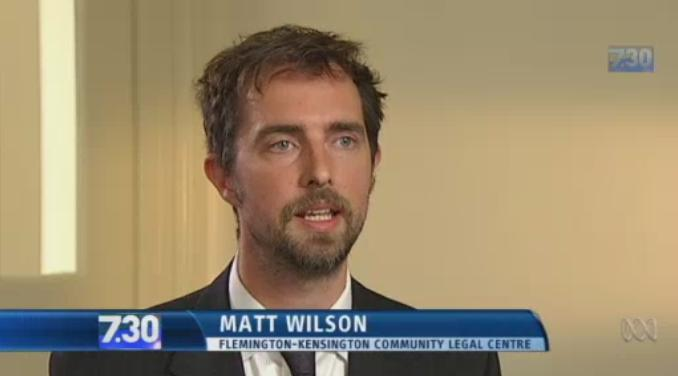 Police Accountability Solicitor Matt Wilson talks about the case
