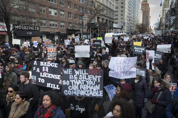 Millions March, New York City, December 13, 2014.