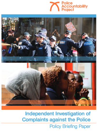 Independent Investigations Policy Paper 2015