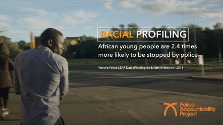 End Racial Profiling video still 5